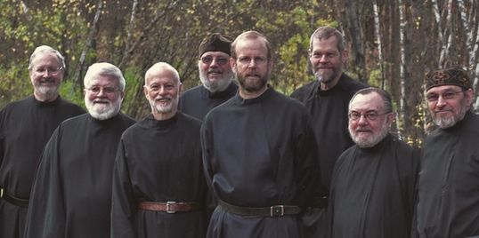 group photo of monks