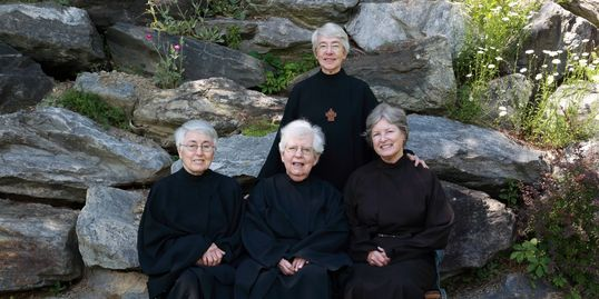 group photo of Nuns of New Skete