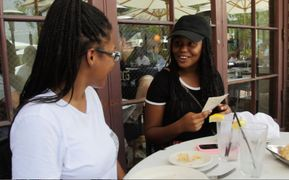 Faith & Daja argue over the bill