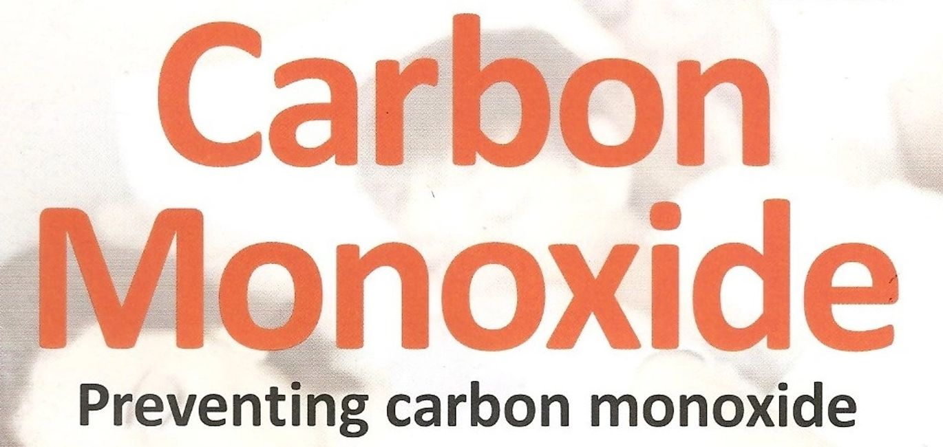 orange carbon monoxide and black