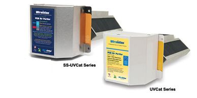 blue and yellow ultravation air purifiers