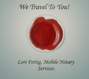 Lori Fertig Mobile Notary and Wedding Officiant