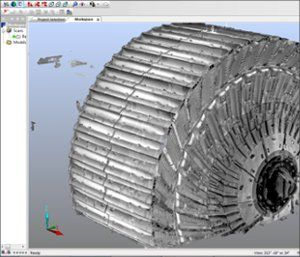 Point Cloud Data of SAG Mill