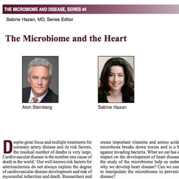 The Microbiome and the Heart https://practicalgastro.com