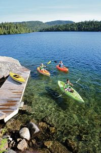 Kayaks, Boating, Pristine, Paddle, Adventure, Cottages, Cabin Rentals near Lake Winnipesaukee, NH