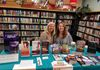 Medina Library Author Expo - Kathryn and Julie