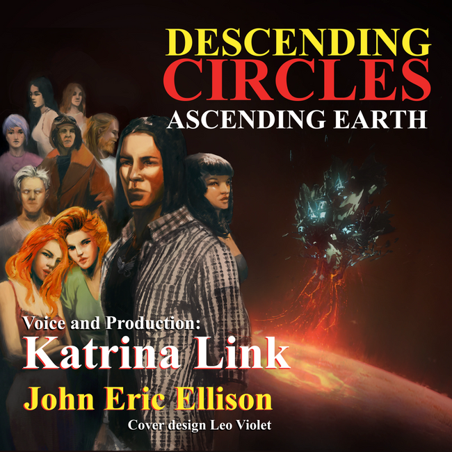 "5th edition cover for ""Descending Circles Ascending Earth."""