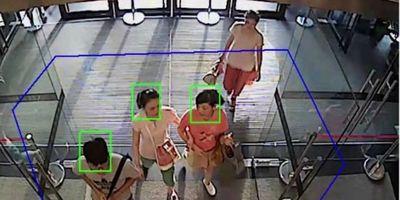 Hikvison People counting CCTV