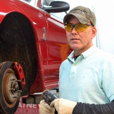 Milton's Paint and Body Shop's owner, Richard Kennedy, with 30 years of auto body experience.