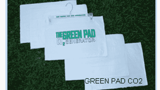 The Green Pad CO2 Generator 5 Pads per Pack