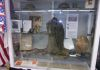 WWI Uniform, Gas Mask, Helmet and accessories worn by PFC Toothman, donated by Family members