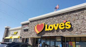 Love's Travel Stop in Ontario, Oregon off exit 374 on I-84