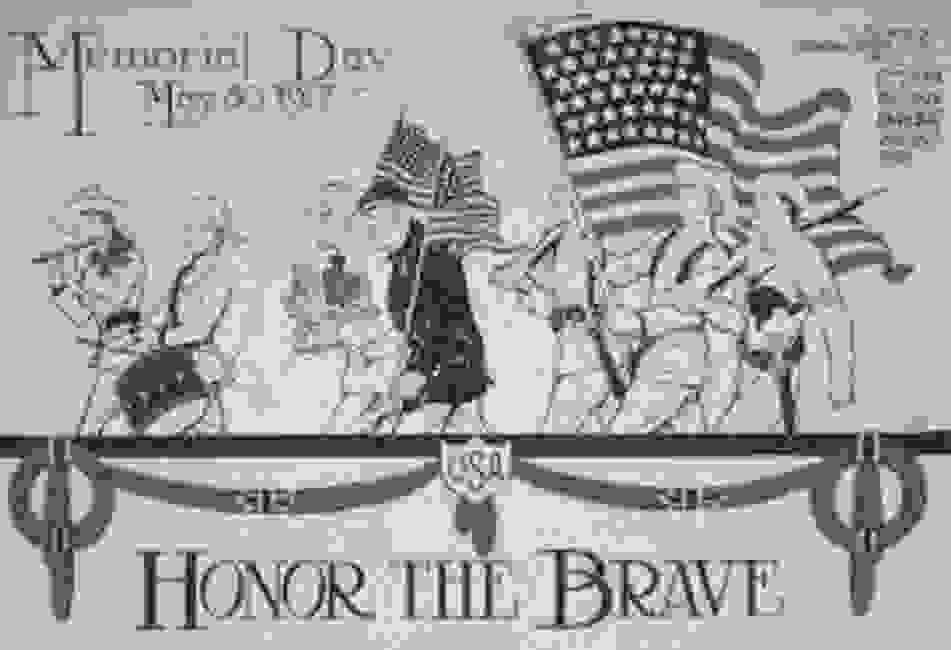 A 1917 Memorial Day Poster