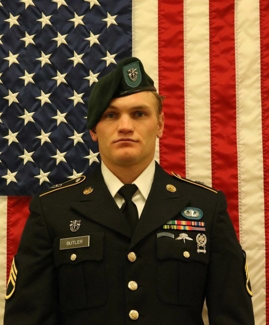 Staff Sergeant Aaron Butler: Died on August 16, 2017 at the age of 27 in Afghanistan from an IED.