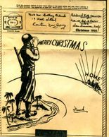"A ""V-Mail"" Christmas Card sent home by one of Raritan, New Jersey's GI's, Tony Orlando"