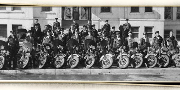 Early Reno Police Department motorcycle unit