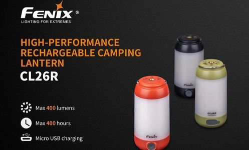 Fenix Rechargeable camping lanterns