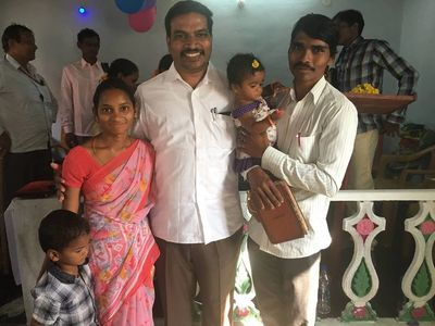 Pastor.Prasad and His Family