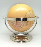 Astonishing globes and astrolabes