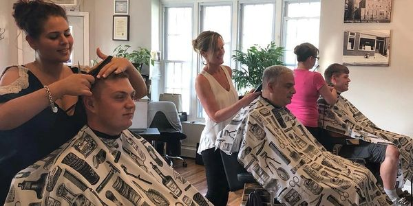 Trained barbers in the spirit of an old Irish traditional shoppe.