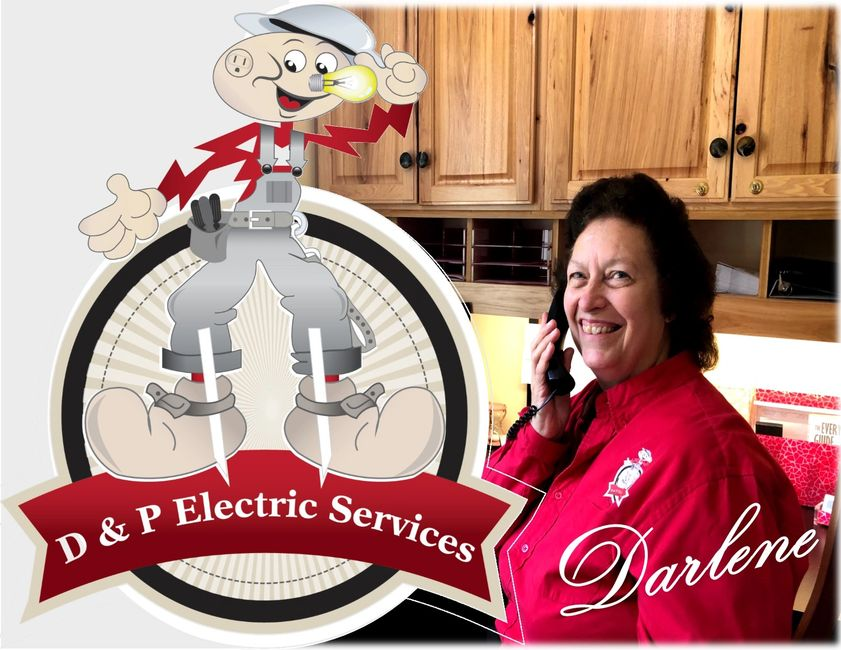 Office Assistant Darlene answers the phone and schedules jobs.