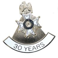 30 Year Membership and Service SAR NSSAR PIN