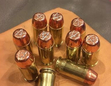Devil's Trap Bullets - One of the many screen accurate props we craft and sell.