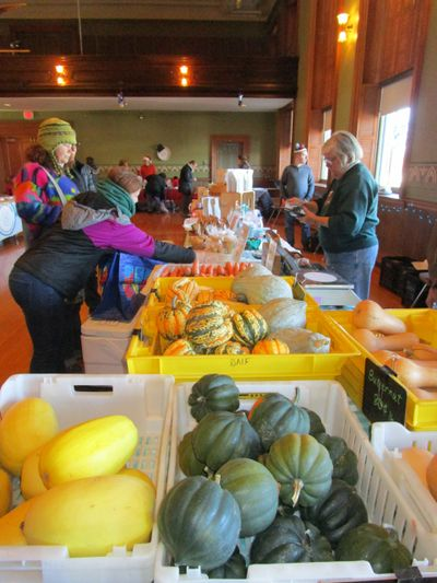 Butternut Farm, a founding member of both our Summer  and winter market.