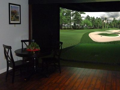 We can install golf simulators from a variety of manufacturers