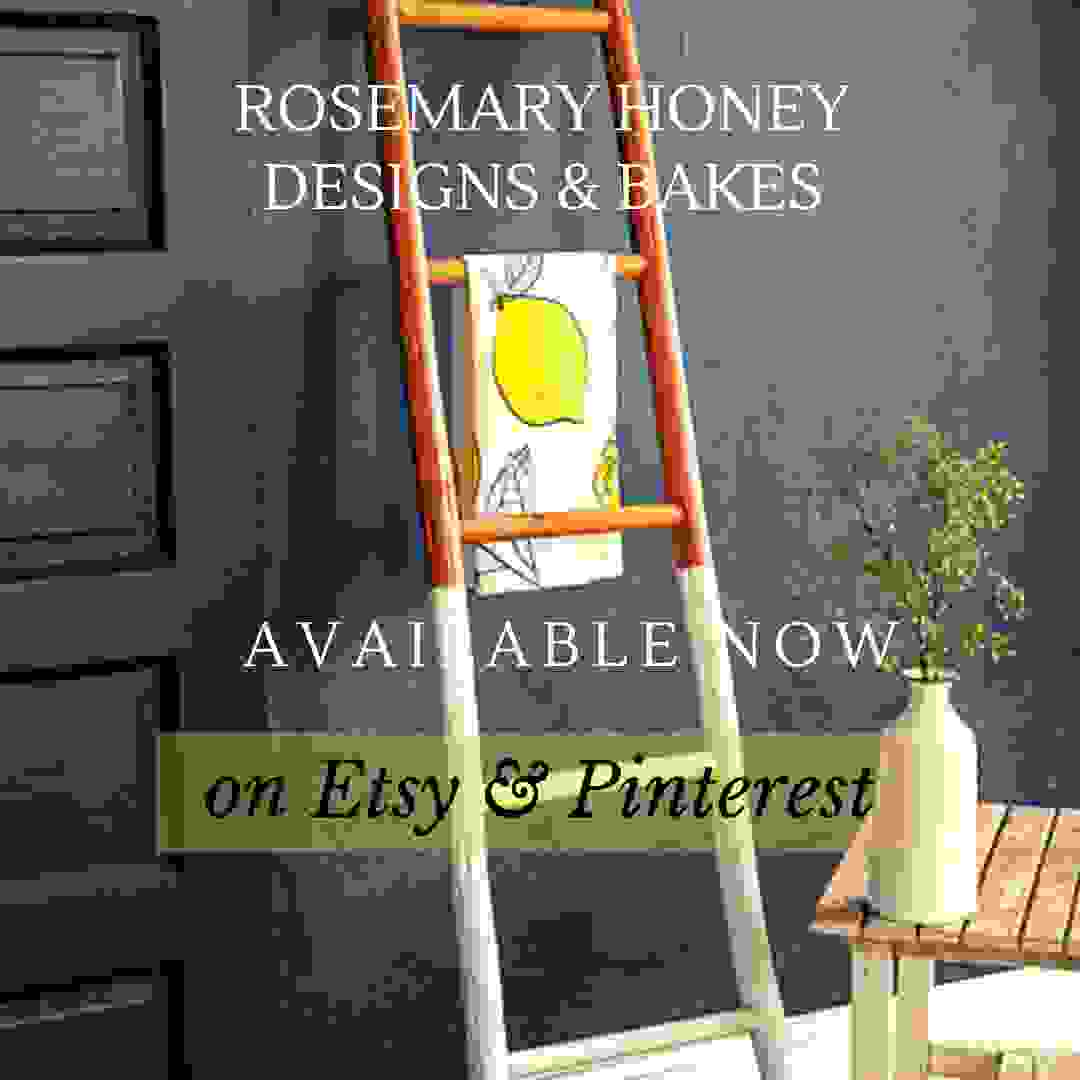 Rosemary Honey Designs & Bakes available now on Etsy and Pinterest Charlotte, NC