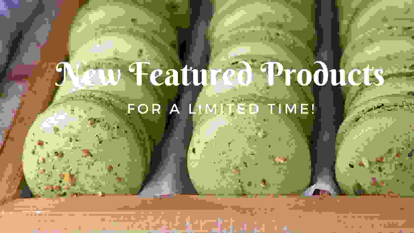 Matcha Macarons with Pistachio by Rosemary Honey Designs & Bakes Charlotte NC