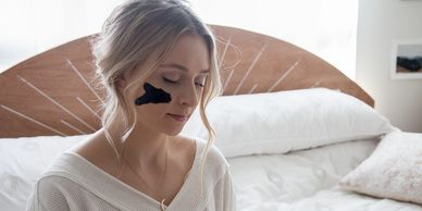 If your feeling like getting a facial, do it yourself using our organic charcoal face mask.