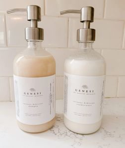 If you want to bathroom to look beautiful add our reusable luxury bottles.