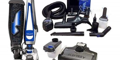 Beverly Sew & Vac shop repairs any model of Kirby vacuum cleaners (including discontinued models).