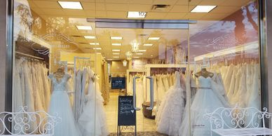 Wedding Belles Bridal Boutique located in Gilbert Arizona.