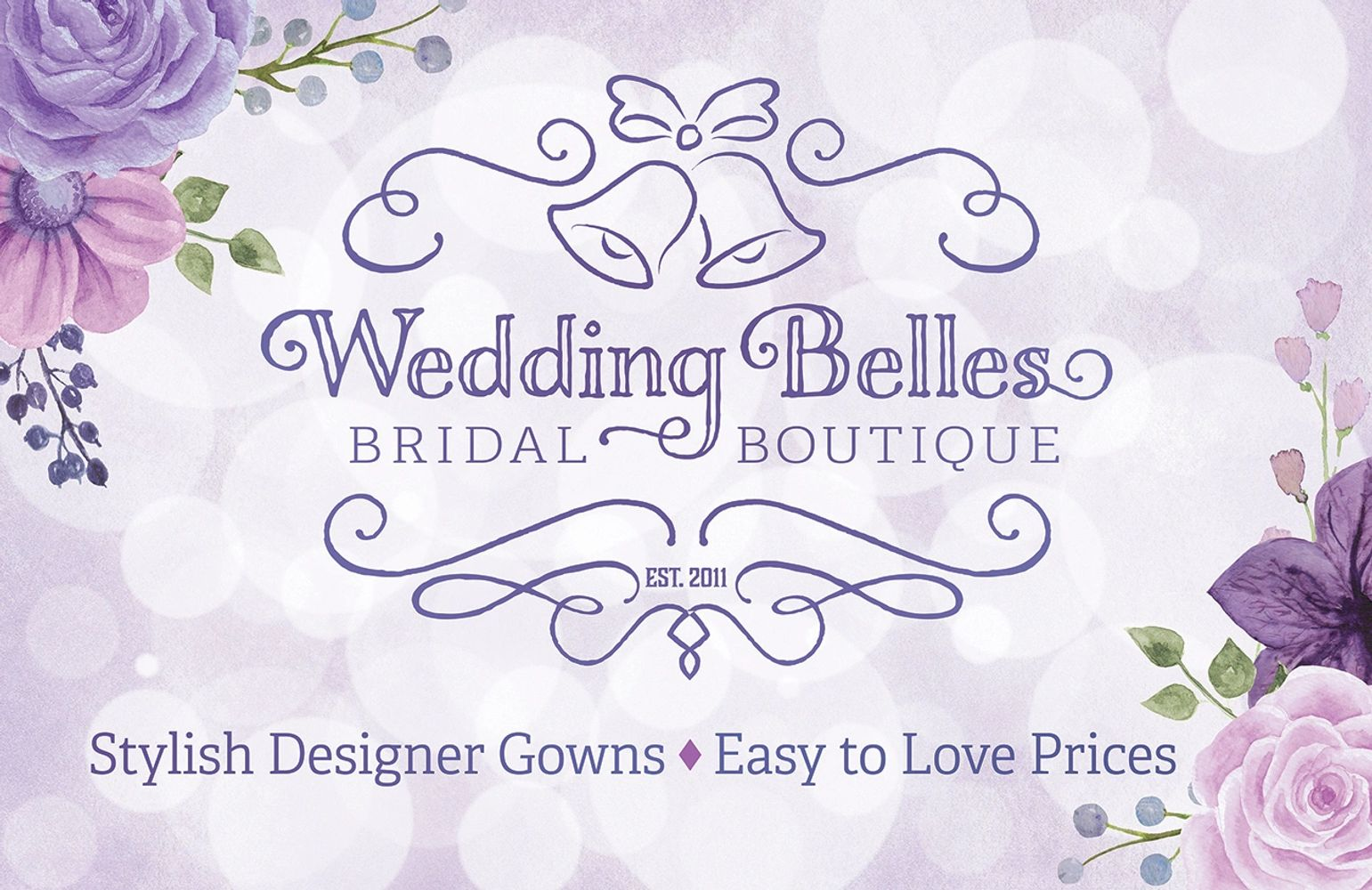 Wedding Belles Bridal Boutique located in Gilbert, Arizona is an affordable designer dress shop