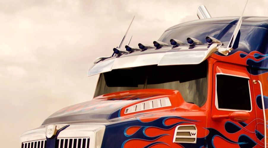 Optimus prime Age of Extinction photography