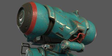 3 dimensional texture painting using Substance Painter