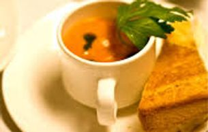 Grilled Cheese & Soup Appetizers