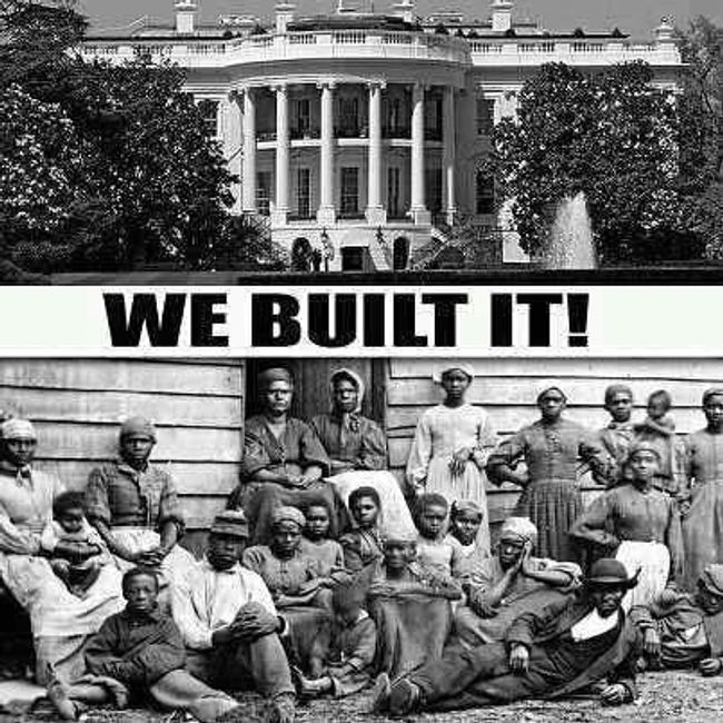 African-American Slaves Constructed The White House