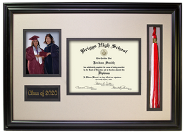 Diploma, Tassel and Photo Frame