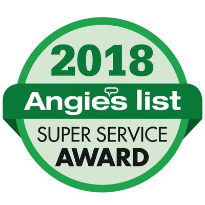 Angie's list recipient 2 years in a row. We strive for Customer Satisfaction.