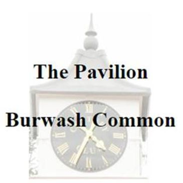 burwash common pavilion and cricket club clock tower