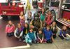FF Matt Fitzgerald with Girl Scouts