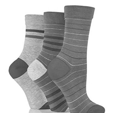 Bamboo Socks - Environmentally friendly and with anti-fungal properties.