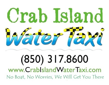 Welcome To Crab Island Water Taxi