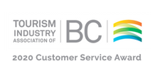 Customer Service Award 2020, Tourism Association of BC