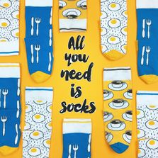 Wholesale prices for funny socks! Colorful socks in funny patterns prodeced in Euro Union.