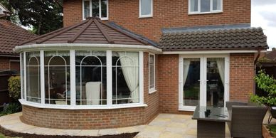 Conservatory replacement - Conservatory roof - warm roof -tiled roof Insulated conservatory roof