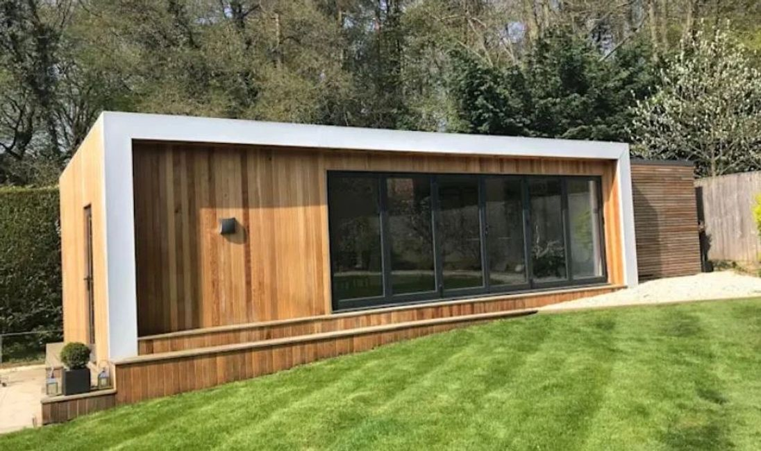 Garden Room Extension Building Contractor UK Office Garden Rooms, Stand alone  care rooms for garden